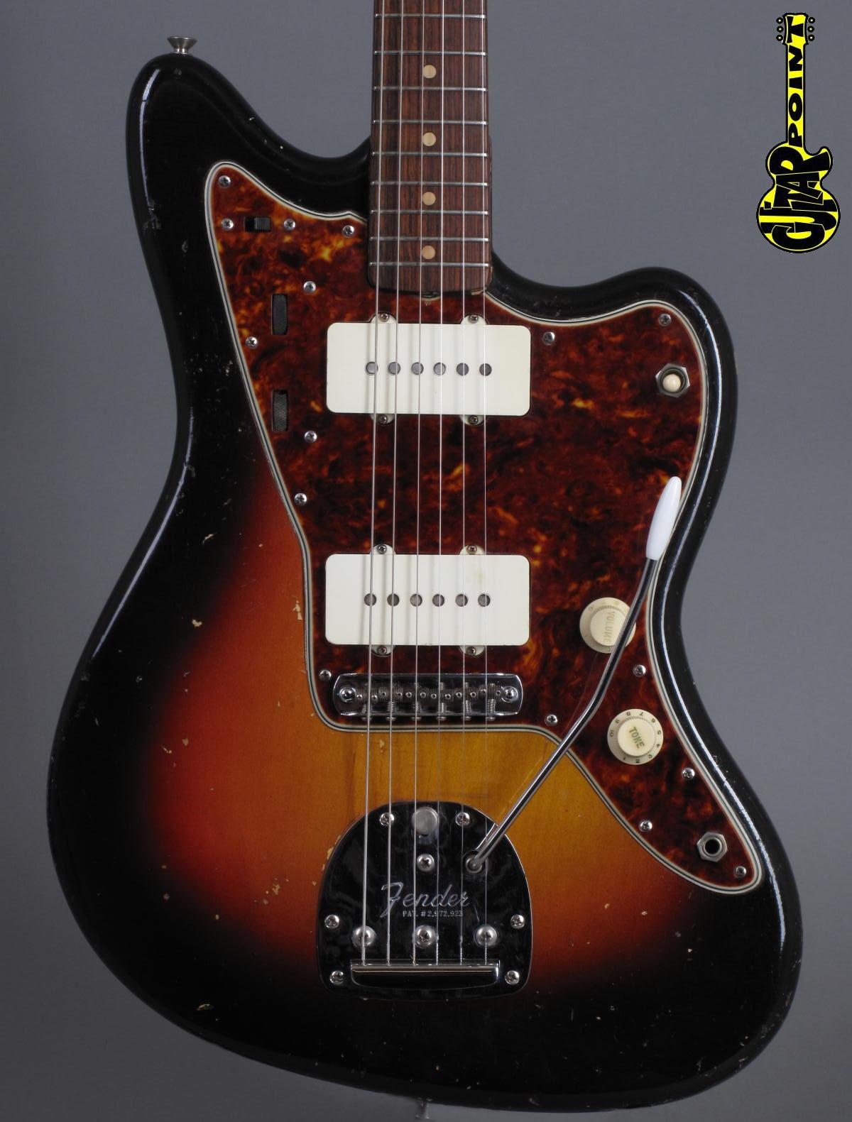 1961 Fender Jazzmaster - 3-tone Sunburst