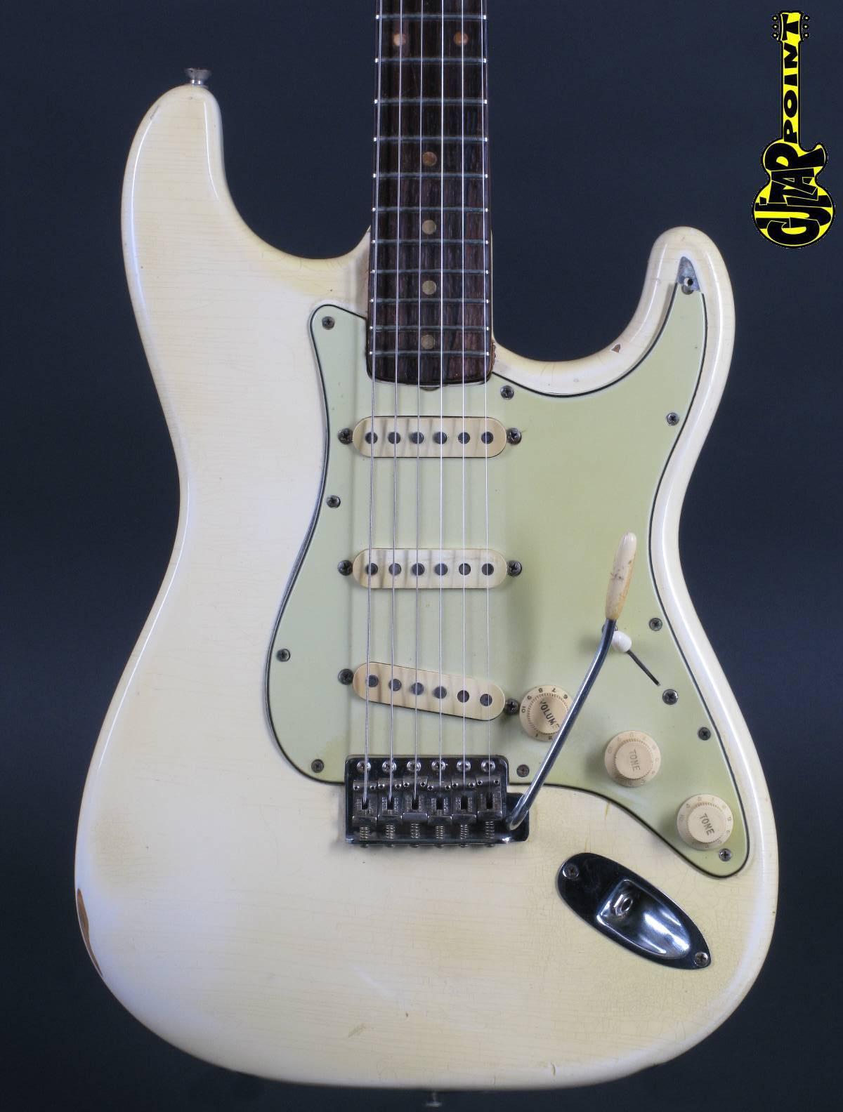 1961 Fender Stratocaster - Olympic White