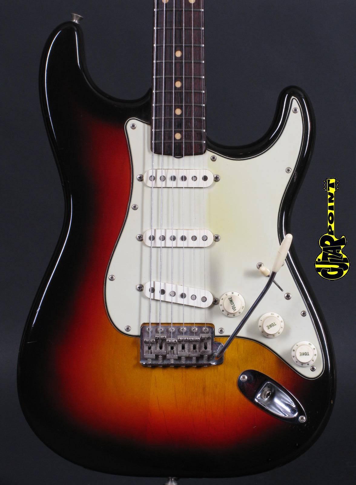 1961 Fender Stratocaster 3-tone Sunburst