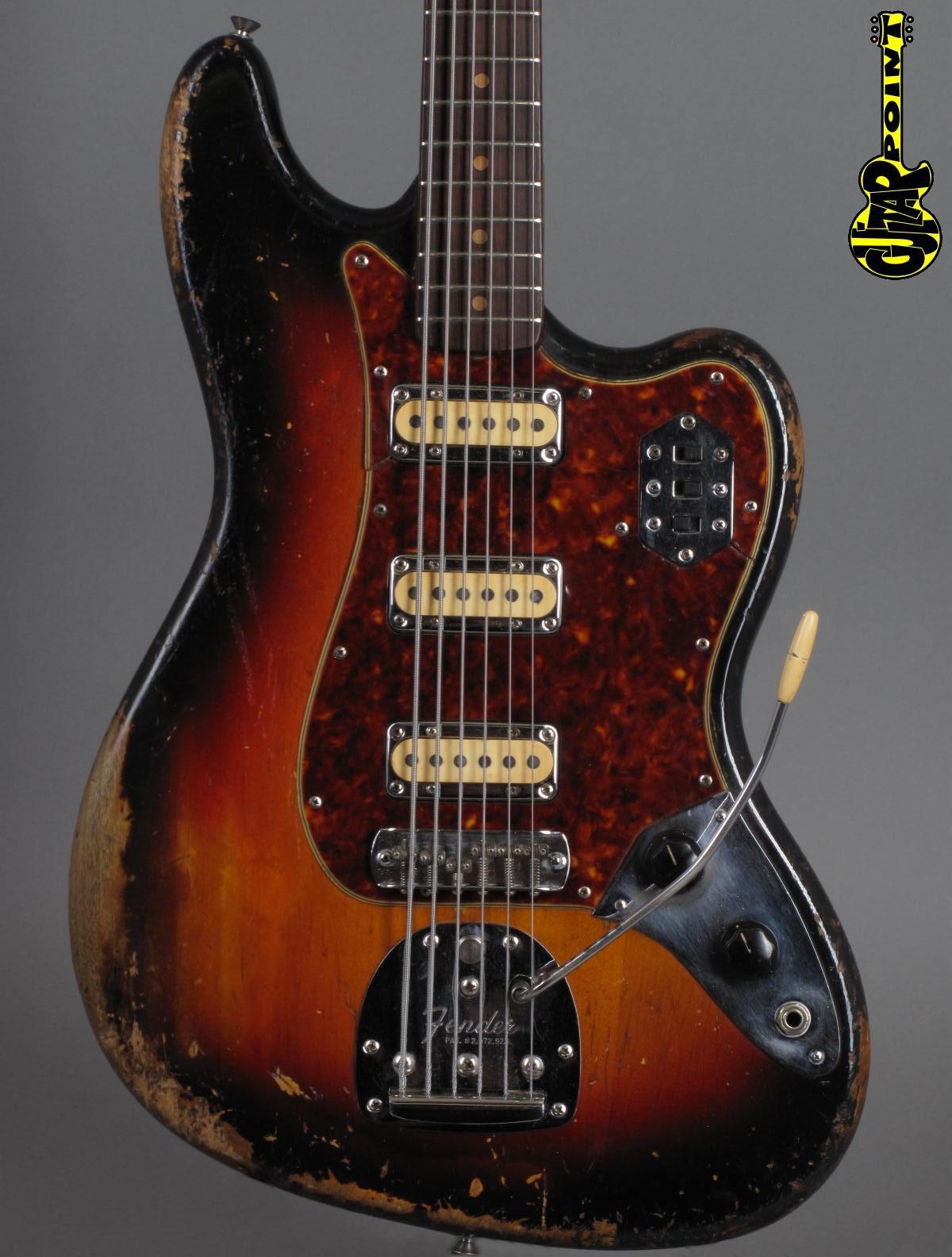 1962 Fender Bass VI – 3-t Sunburst