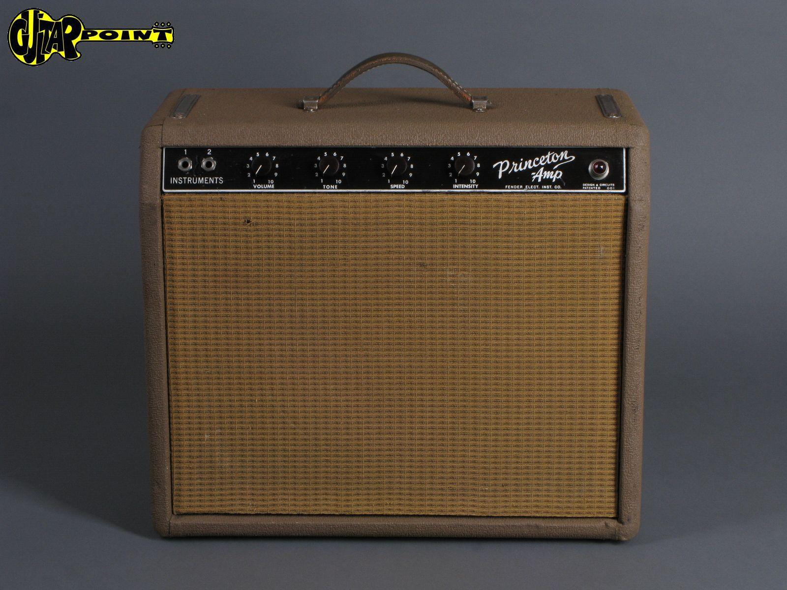 """1962 Fender Princeton """"Brownface"""" Amp"""
