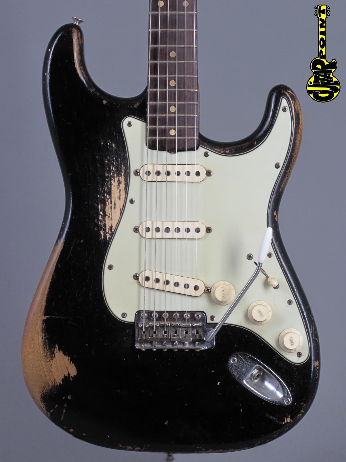 1962 Fender Stratocaster - Black