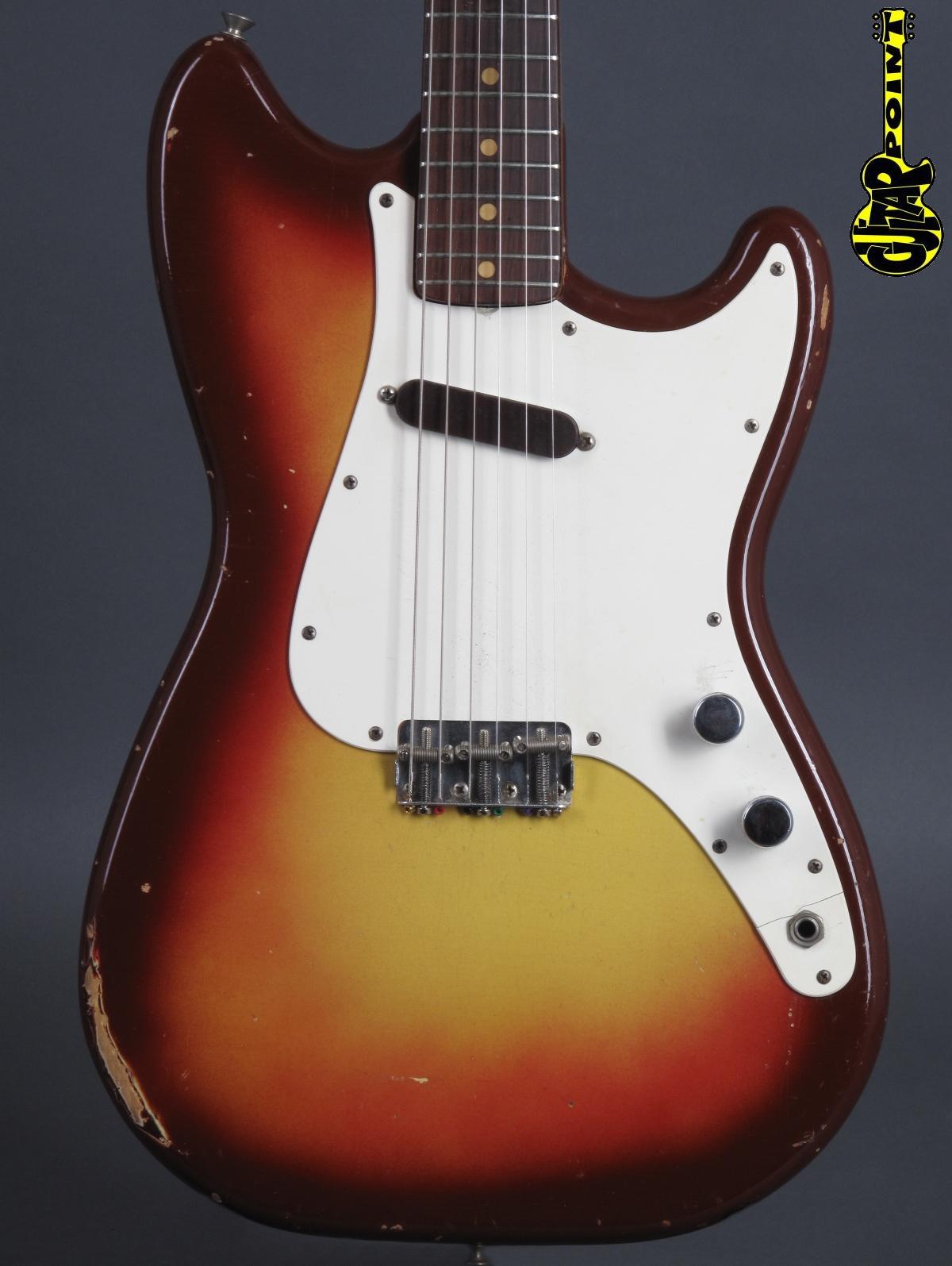 1963 Fender Musicmaster – Sunburst