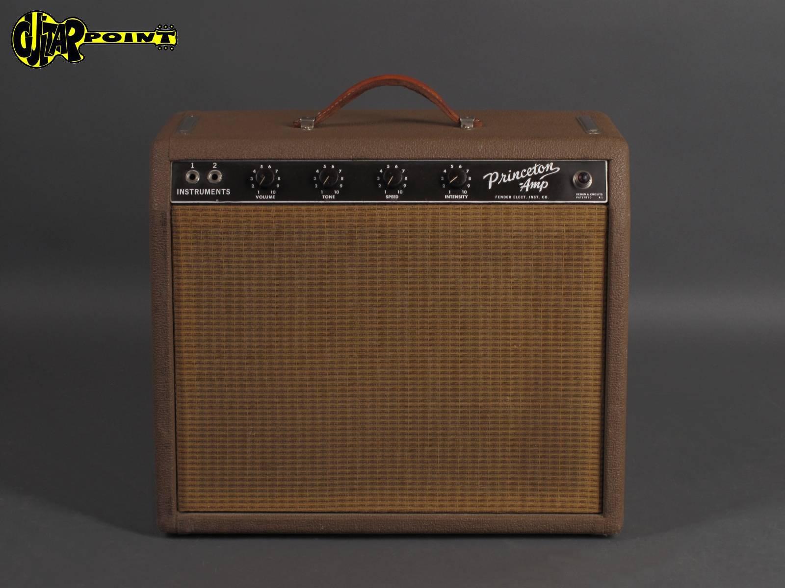 """1963 Fender Princeton """"Brownface"""" Amp"""