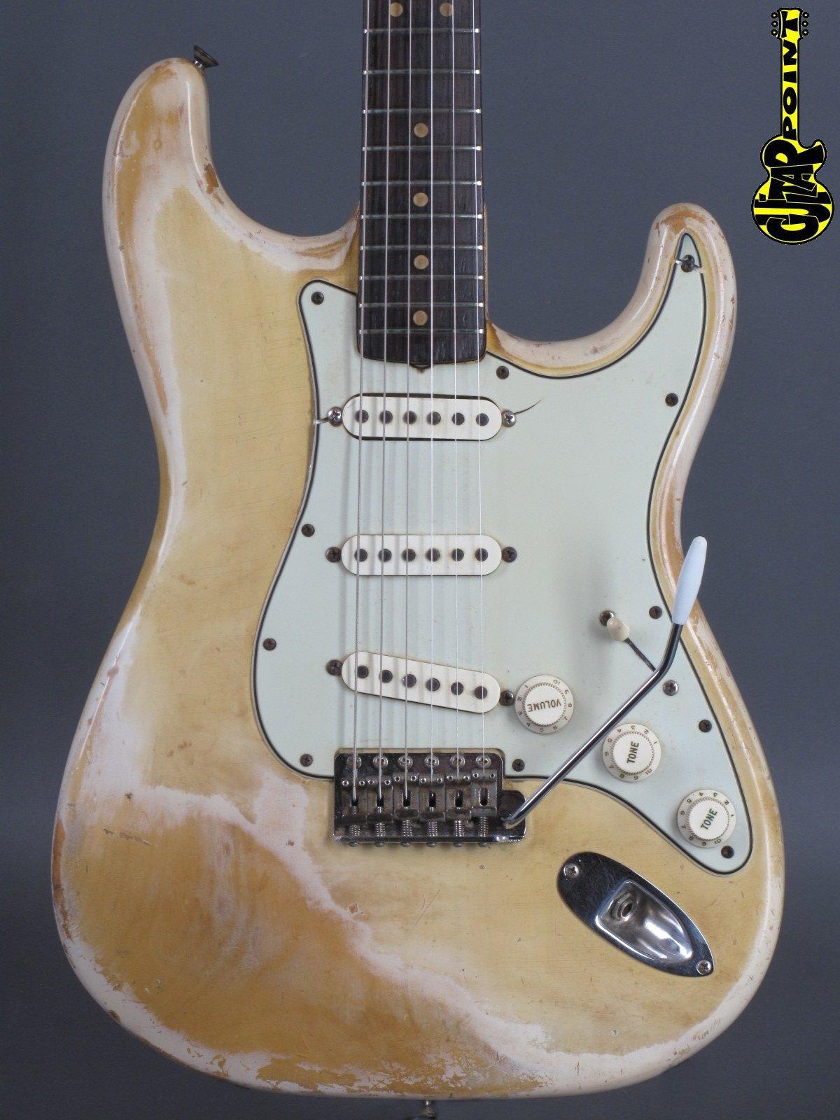 1963 Fender Stratocaster - Blond ...rare and lightweight = 3,19Kg!