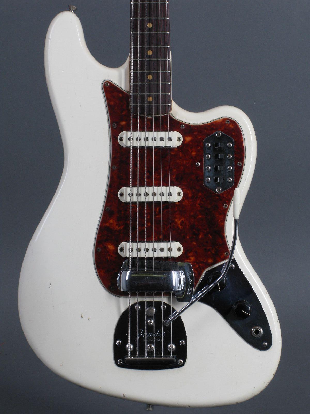 1963 Fender Bass VI – Olympic White