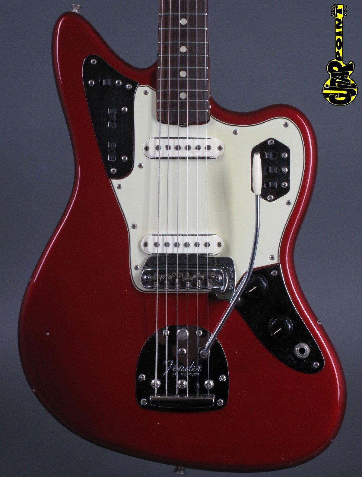 1964 Fender Jaguar – Candy Apple Red