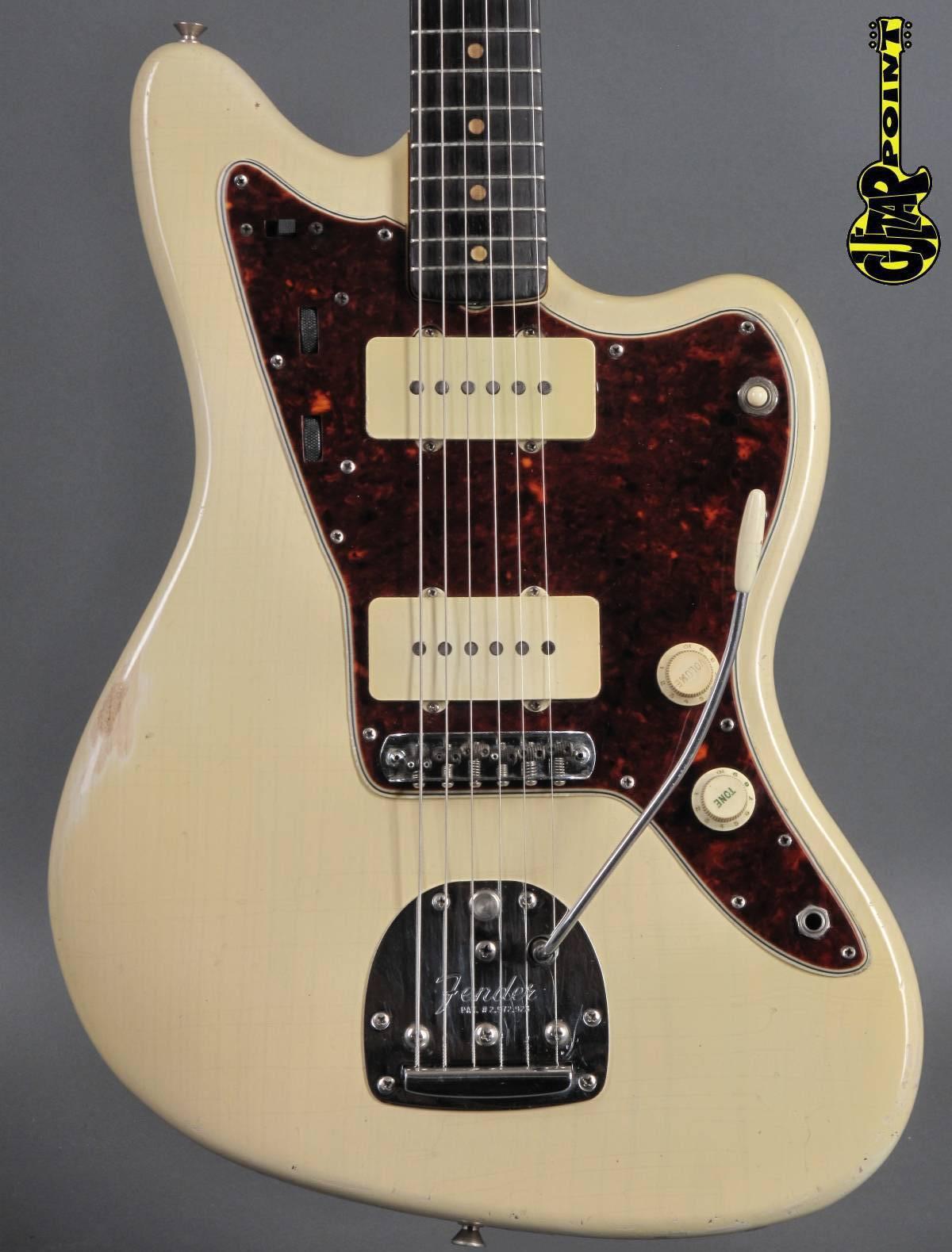 1964 Fender Jazzmaster - White Ash