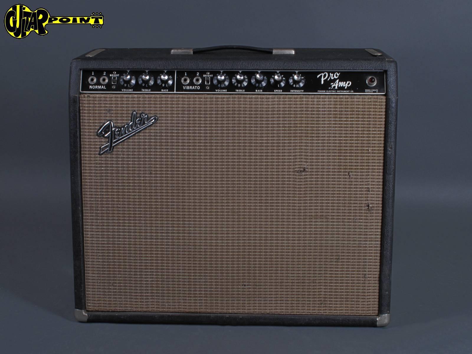 "1964 Fender Pro Amp - ""Blackface"" 1x15"""