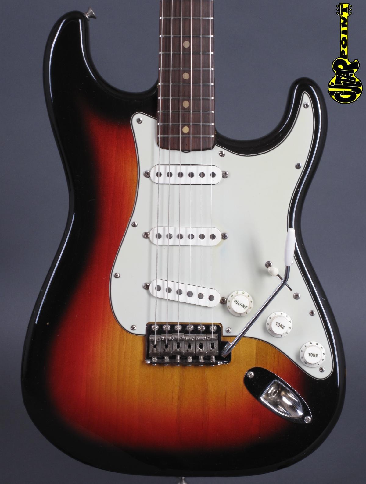 1964 Fender Stratocaster - 3-tone Sunburst   + Case Candy !
