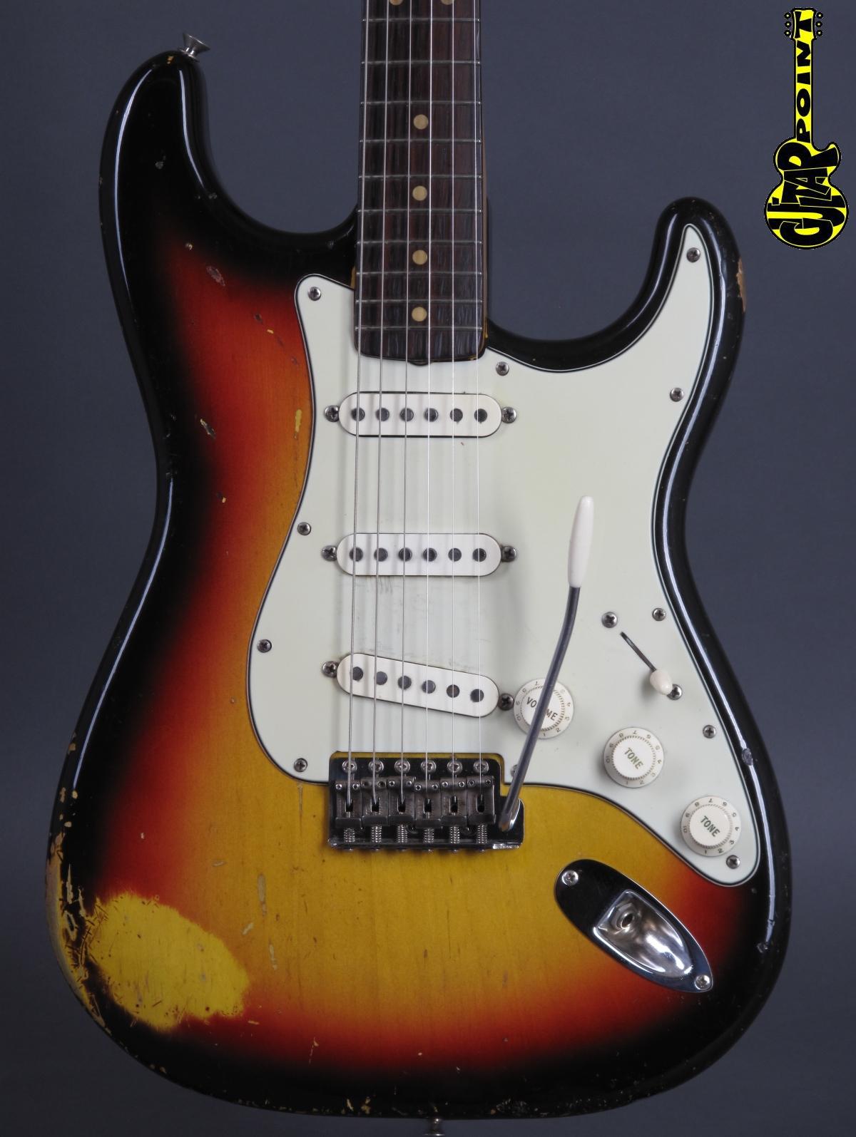 1964 Fender Stratocaster - 3-tone Sunburst   Abigail Yabbara PU´s!