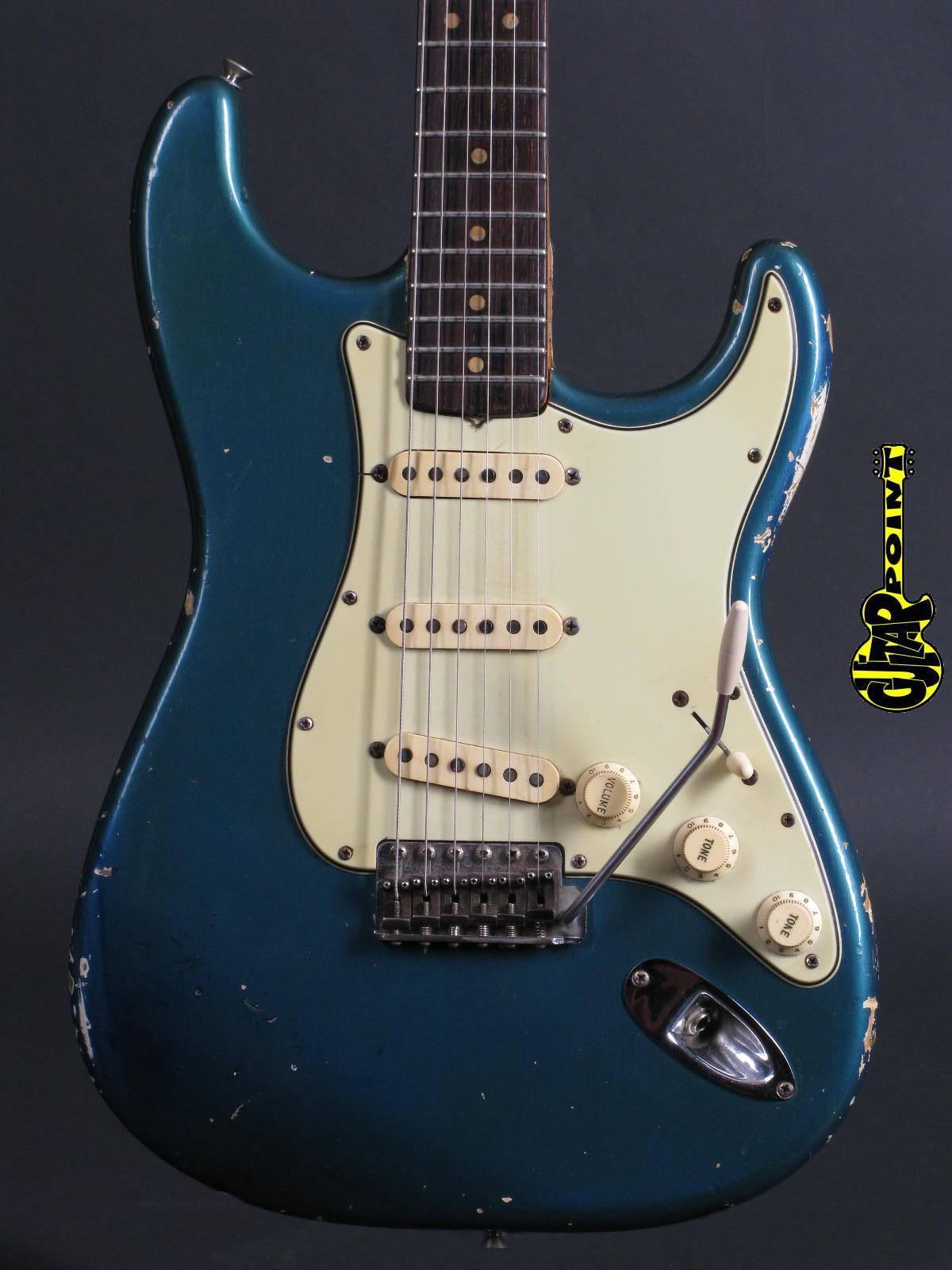 1964 Fender Strat - Lake Placid Blue