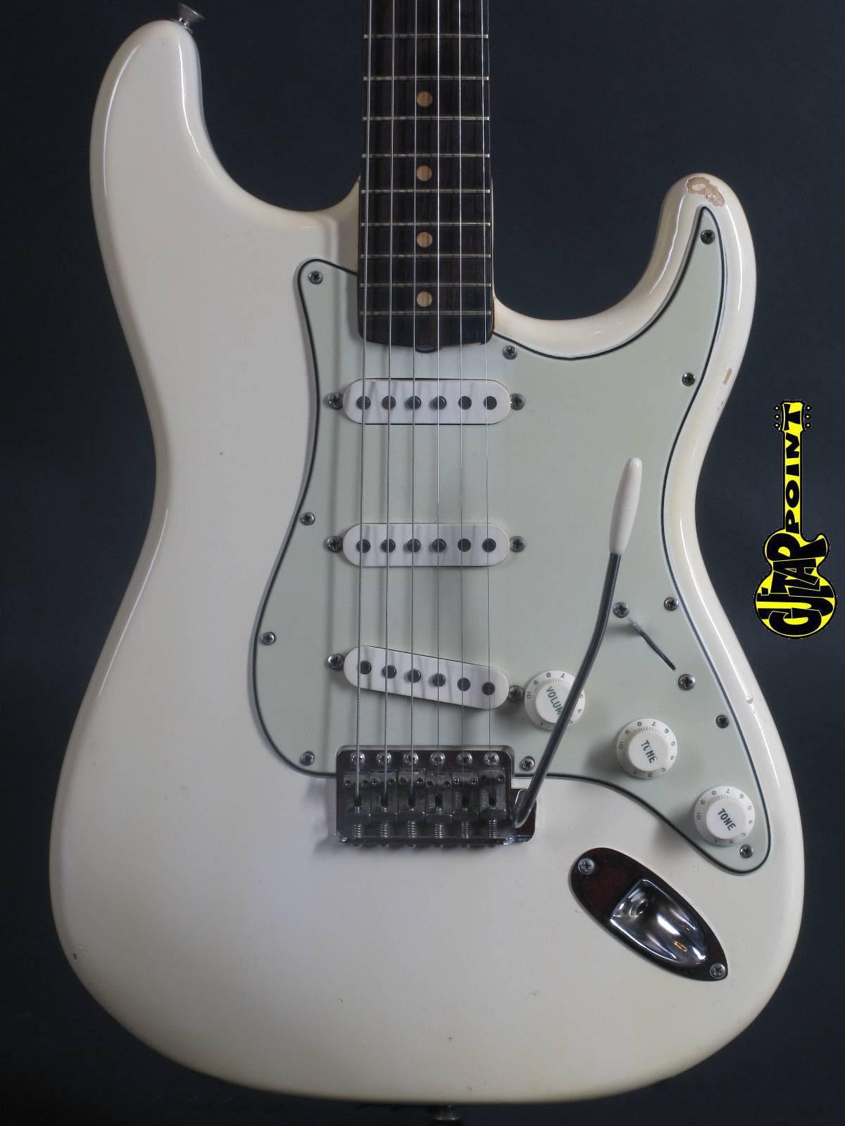 1964 Fender Stratocaster - Olympic White / Ash Body!