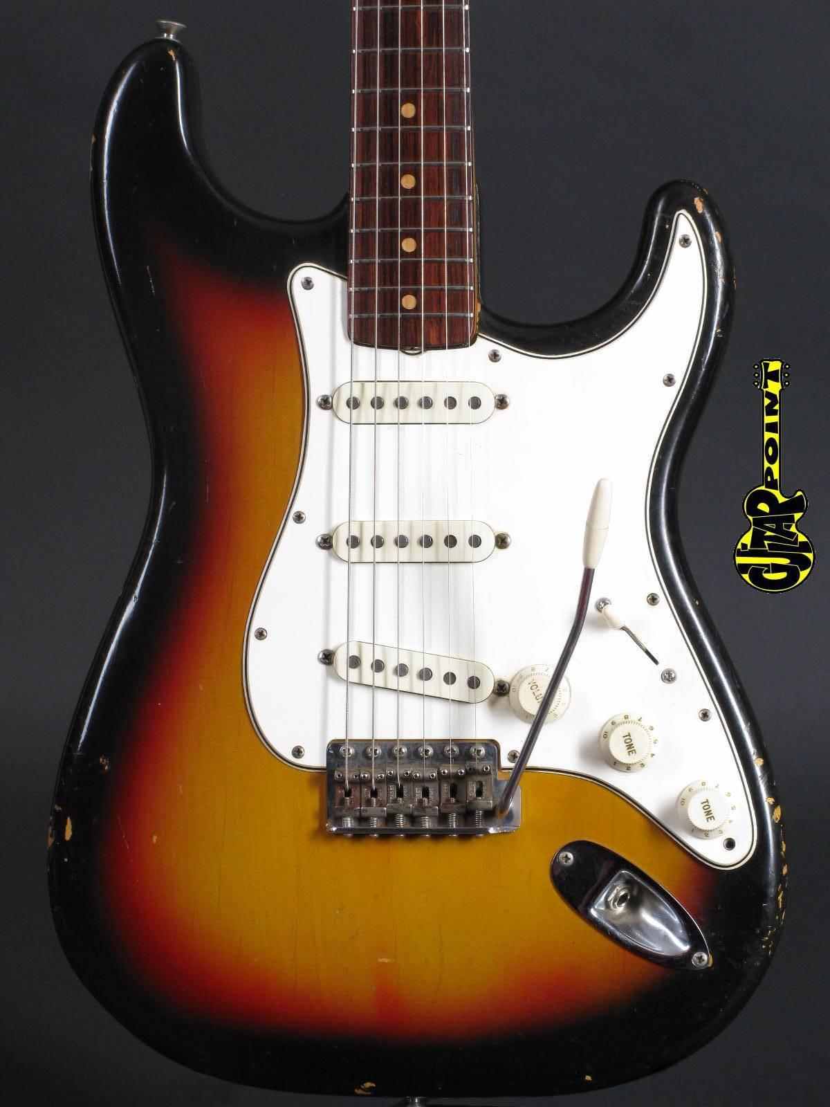 1964 Fender Stratocaster - 3t-Sunburst