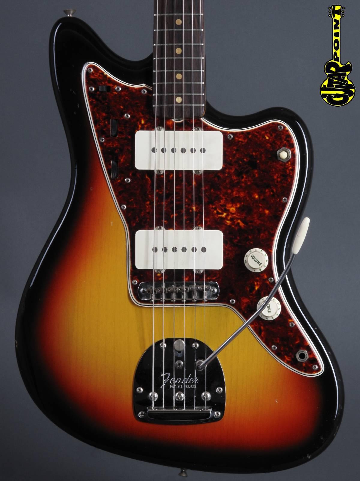 1965 Fender Jazzmaster - 3-tone Sunburst