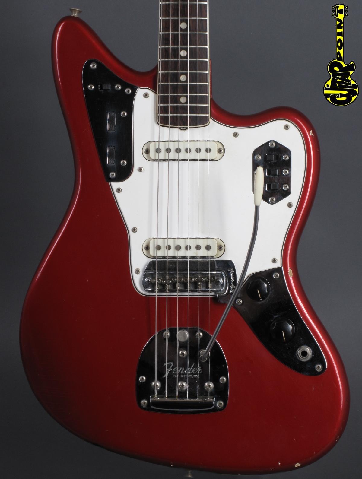 1965 Fender Jaguar – Candy Apple Red