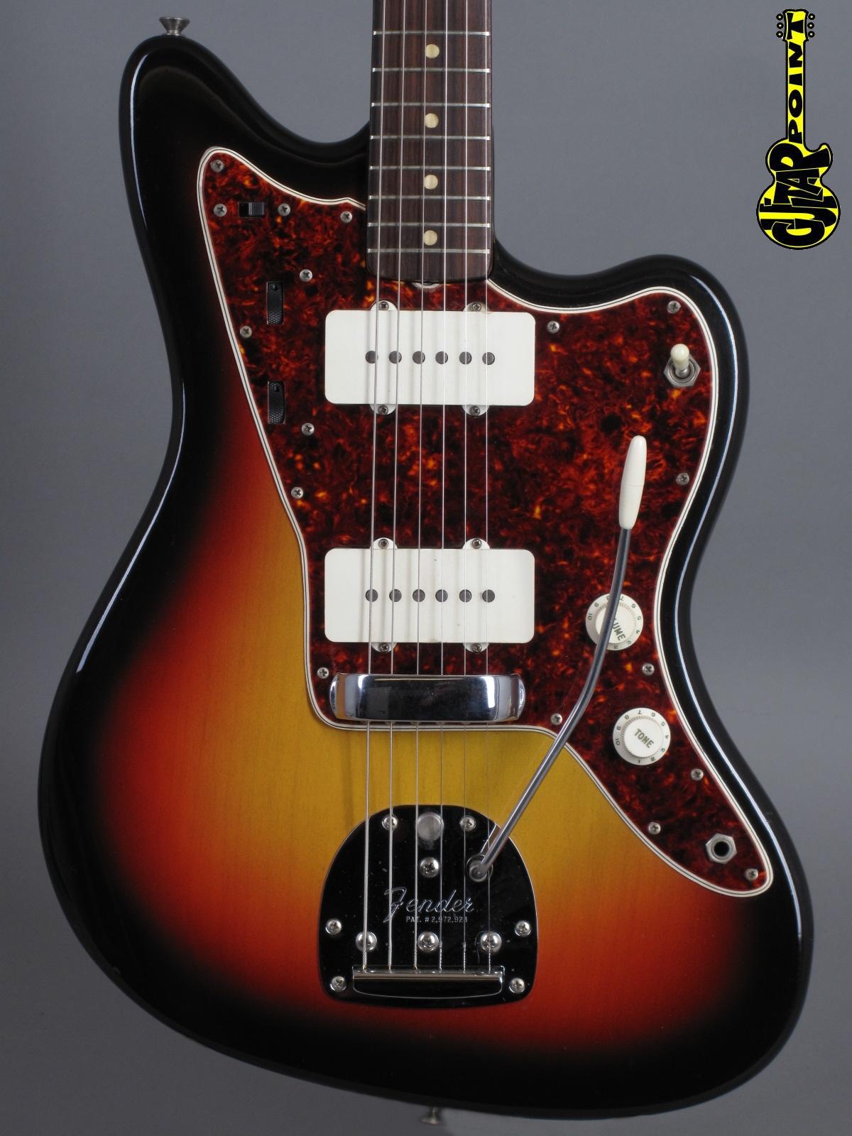 1965 Fender Jazzmaster - 3-tone Sunburst  incl. hangtags!