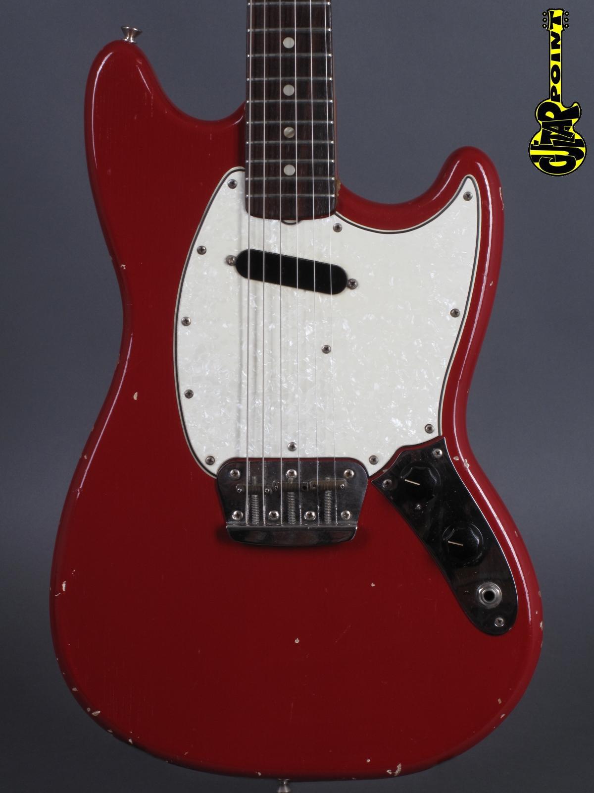 1965 Fender Musicmaster II – Dacota Red