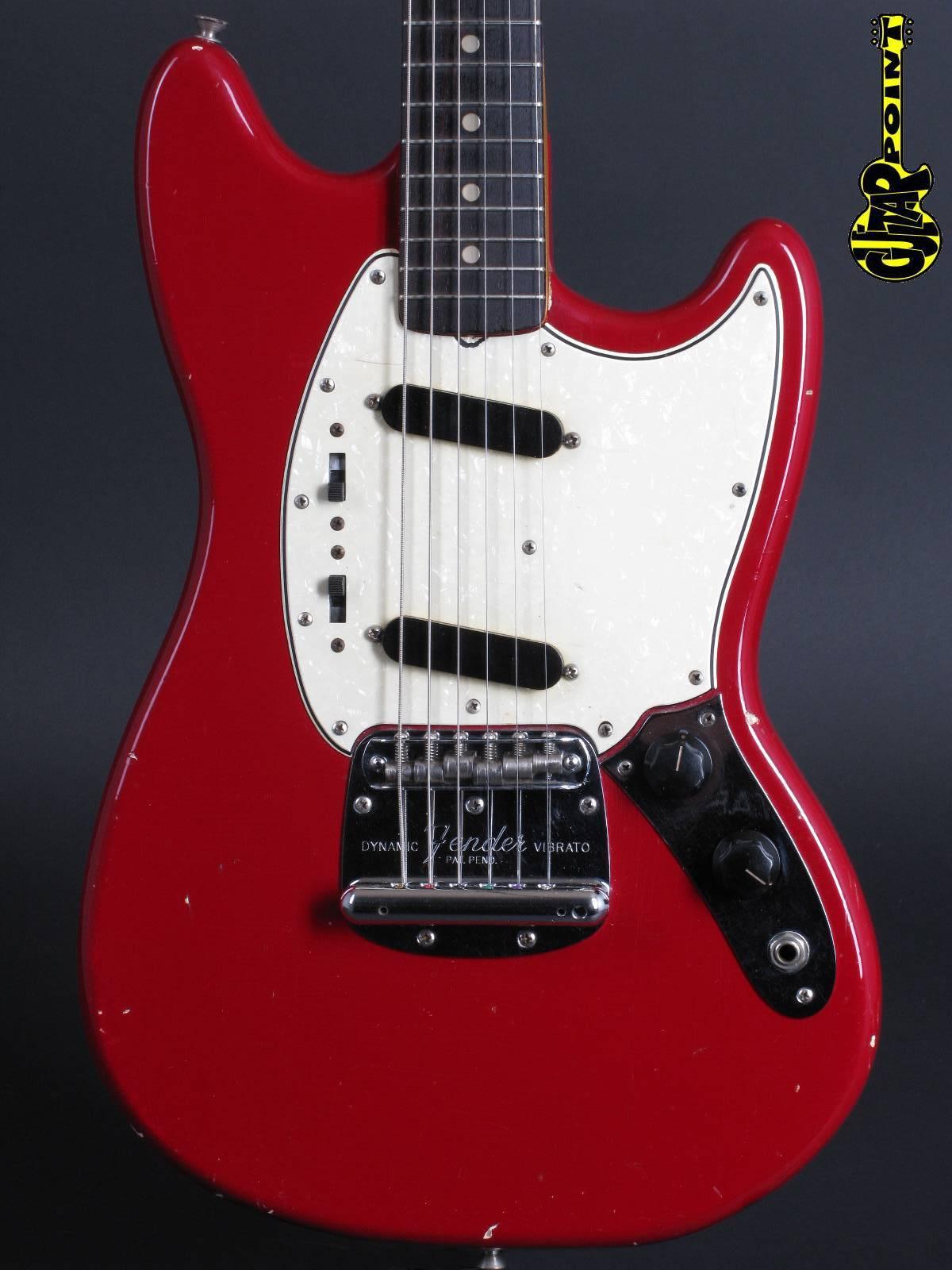 1965 Fender Mustang - Dakota Red incl. orig. Case