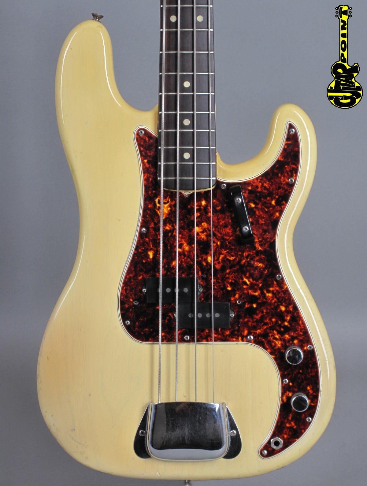 1965 Fender Precision Bass - Blond  ...care Custom Color!
