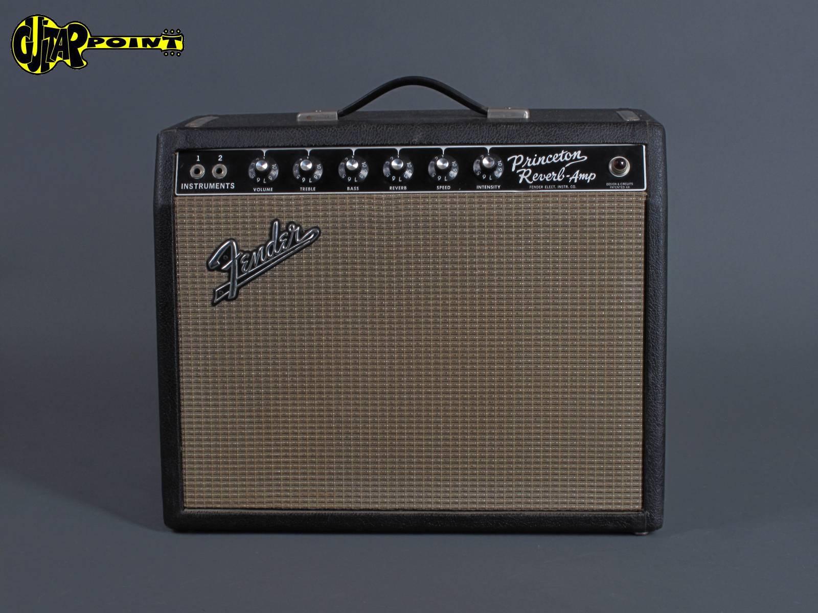 "1965 Fender Princeton Reverb - ""Blackface"""