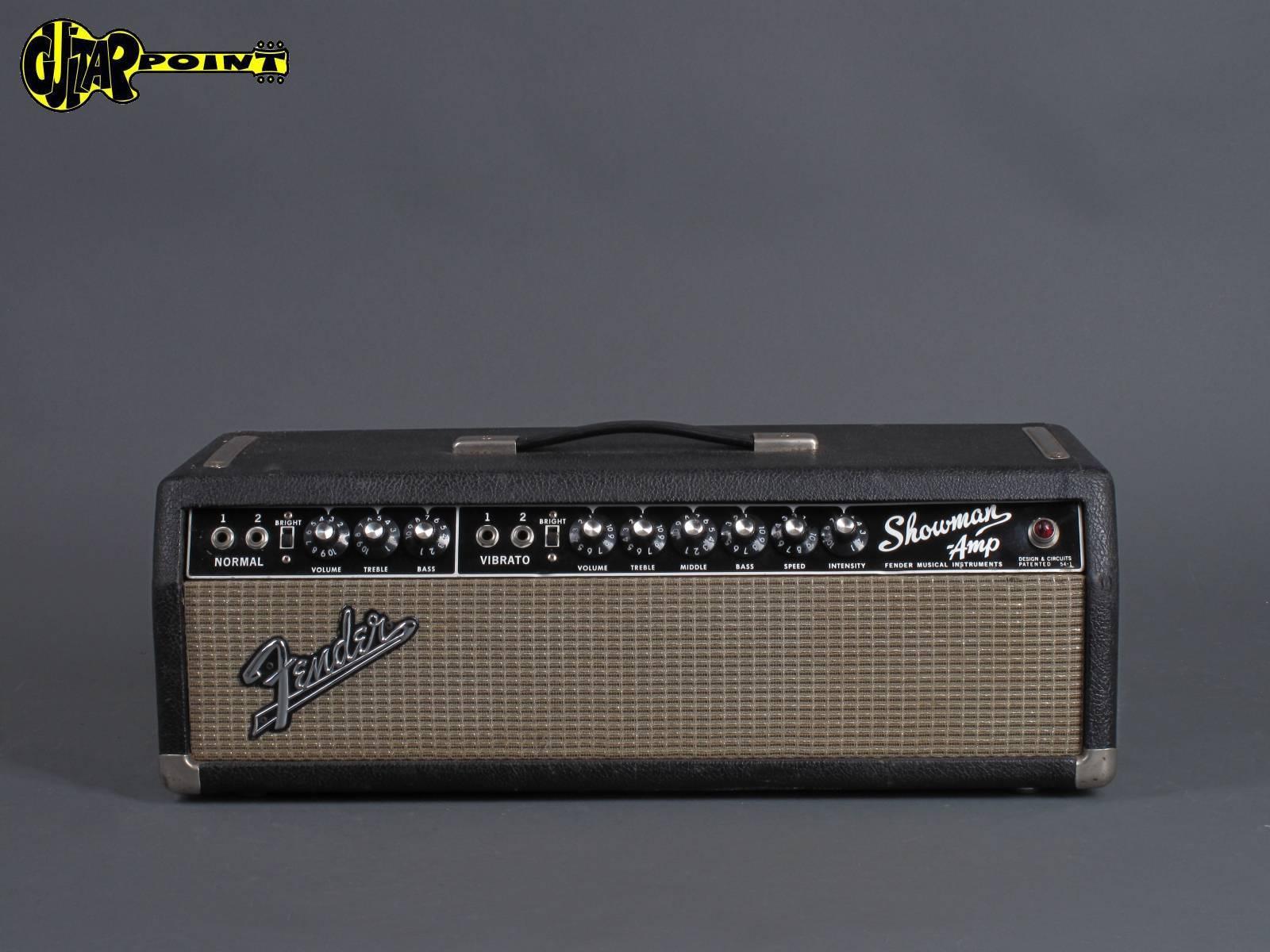 "1965 Fender Showman - ""Blackface"""