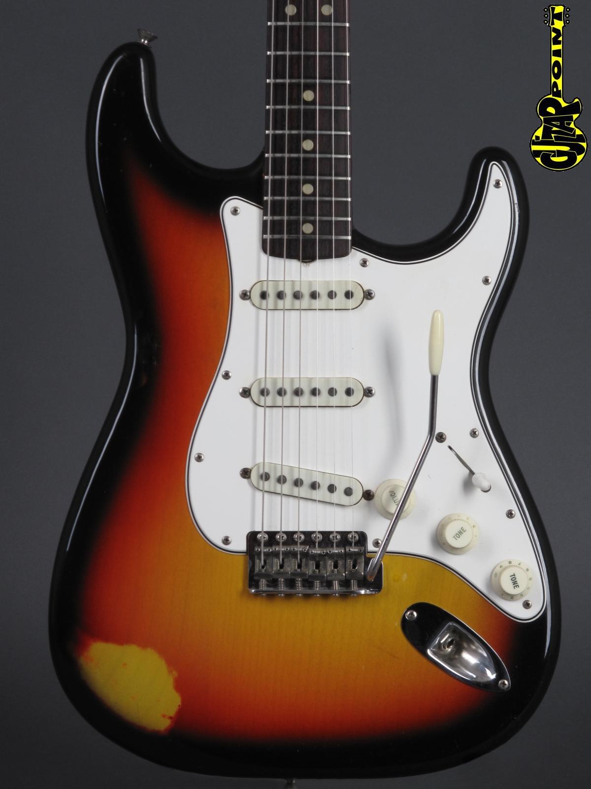 1965 Fender Stratocaster - 3t-Sunburst