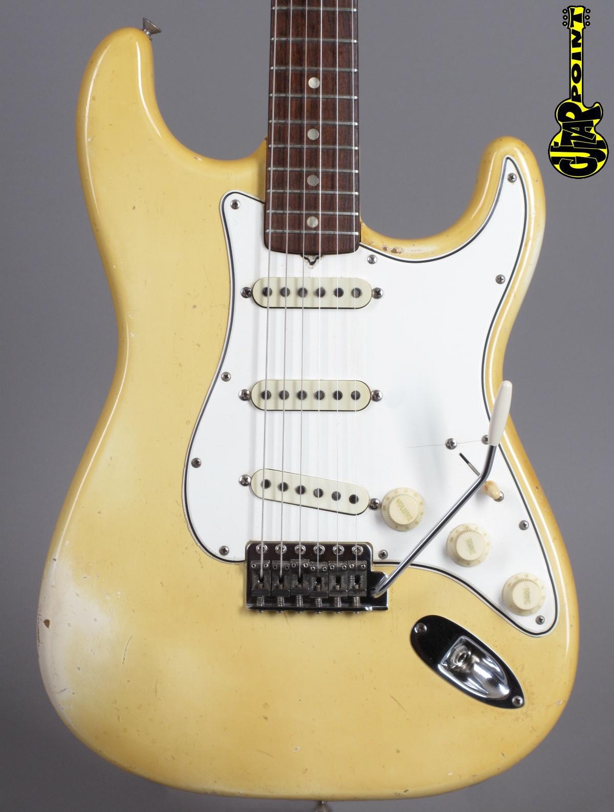 1965 Fender Stratocaster - Olympic White