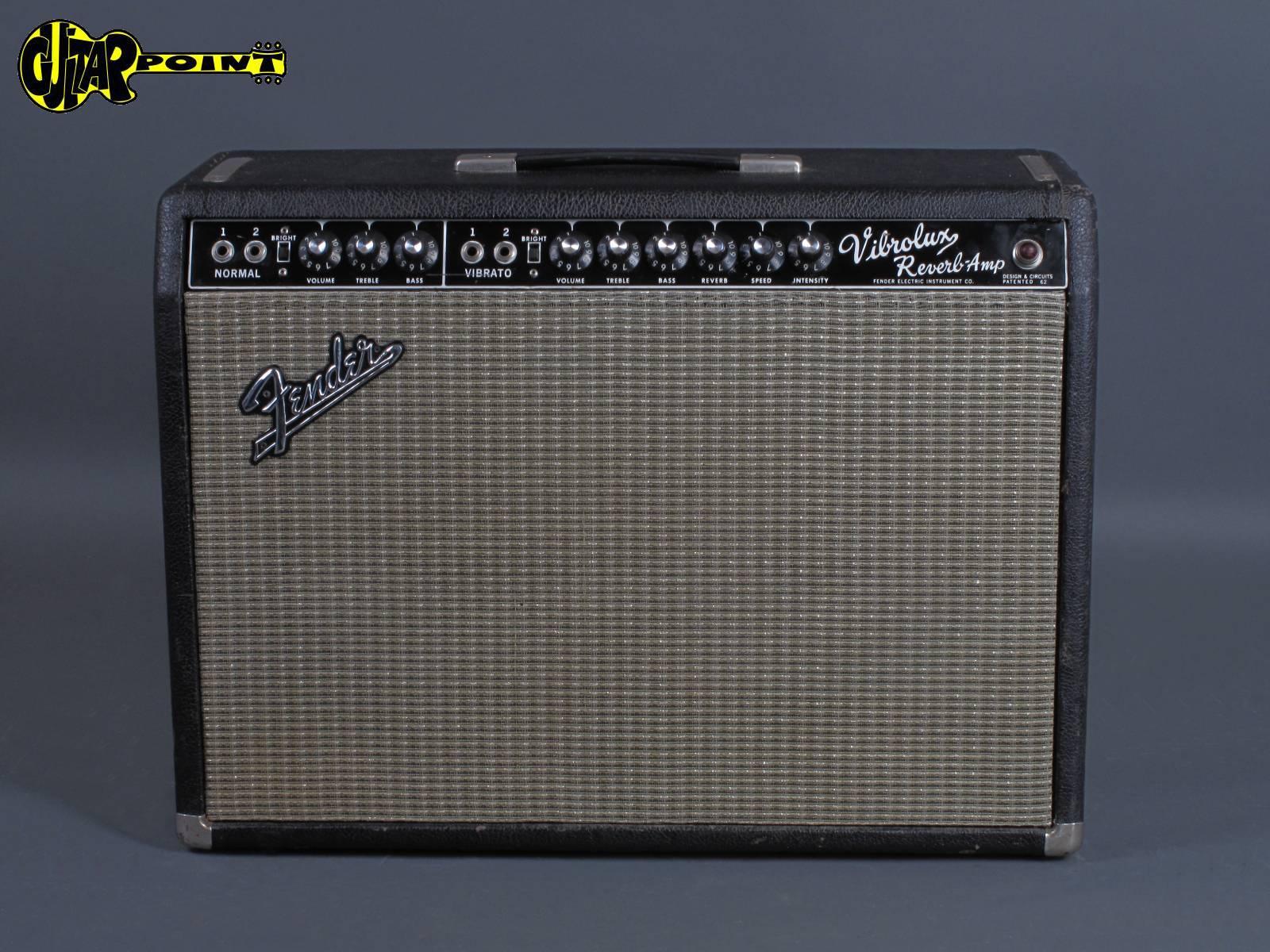 "1965 Fender Vibrolux Reverb Amp - ""Blackface"""