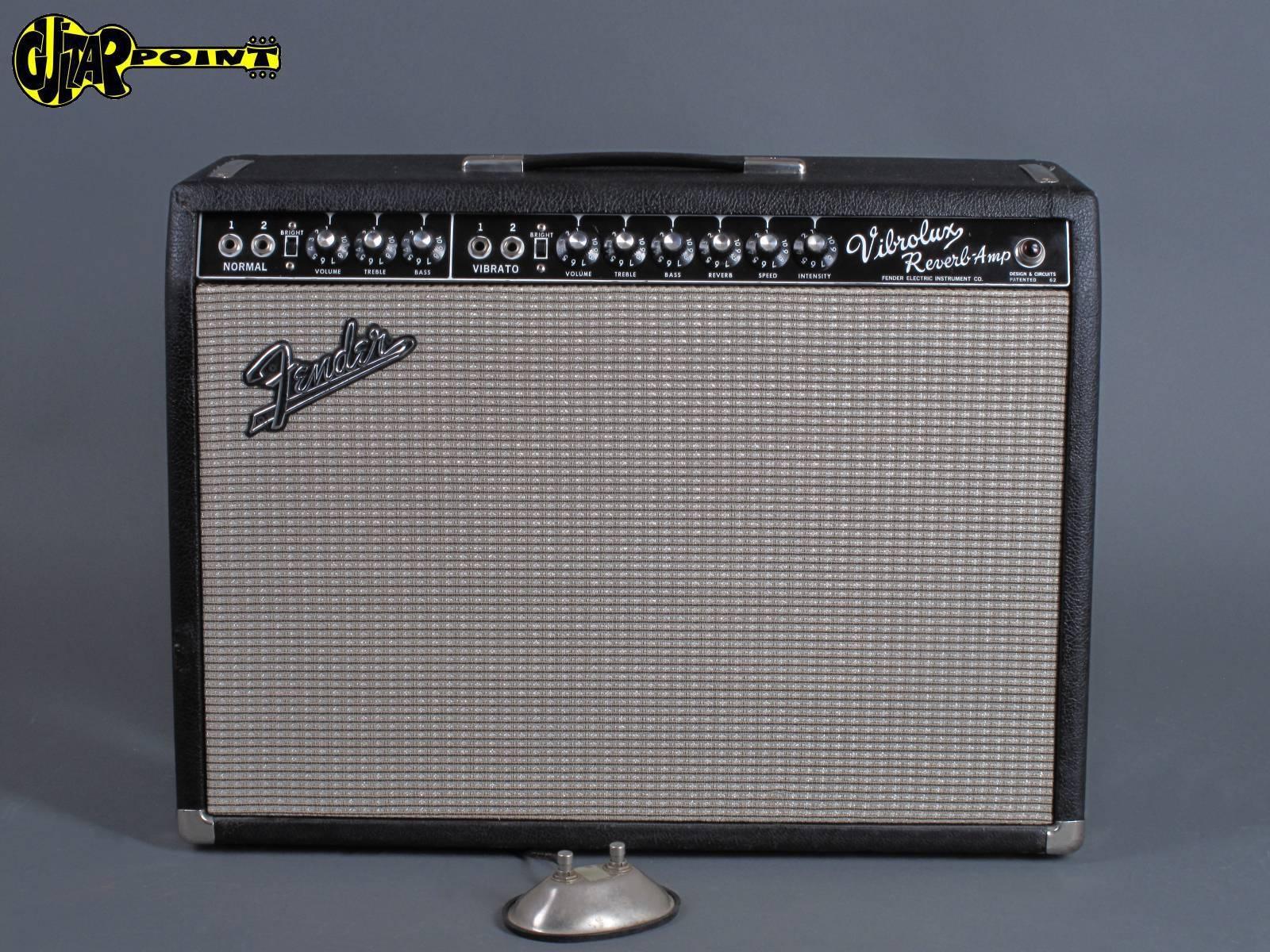 1965 Fender Vibrolux  Reverb Amp - Blackface