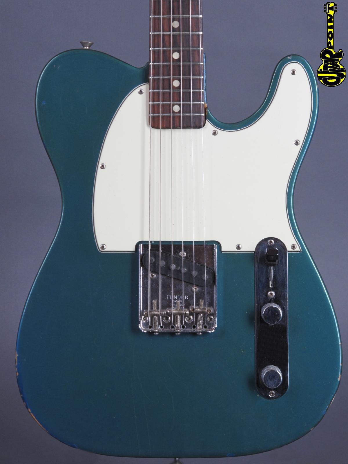 1966 Fender Esquire - Lake Placid Blue