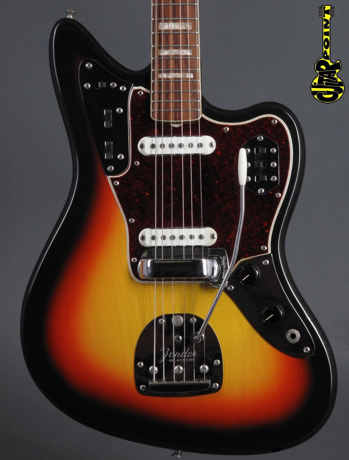 1966 Fender Jaguar in 3-tone Sunburst
