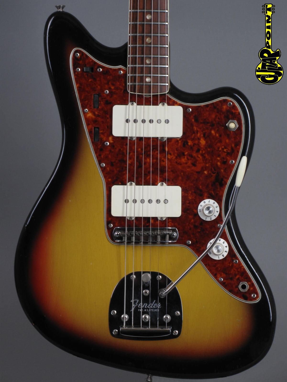 1966 Fender Jazzmaster - 3-tone Sunburst  exc.+ !