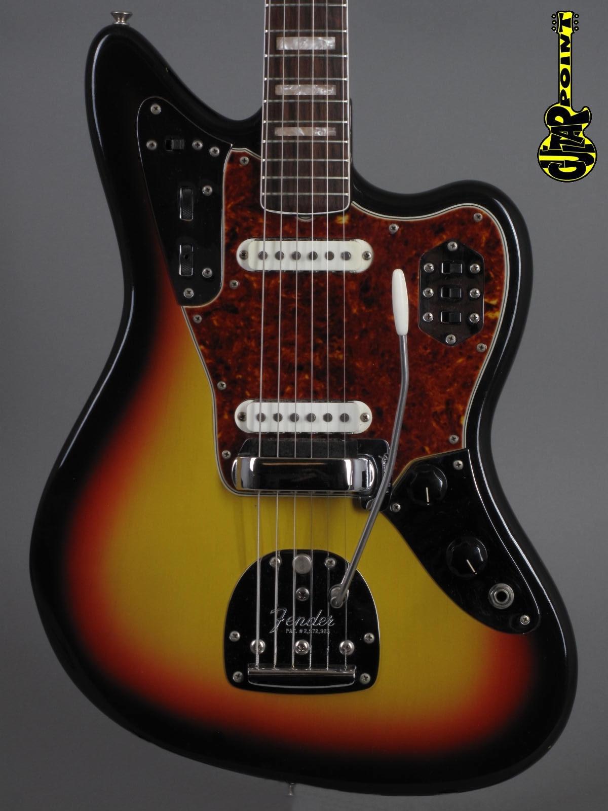 1966 Fender Jaguar in 3-tone Sunburst ...Mint & Case Candy !