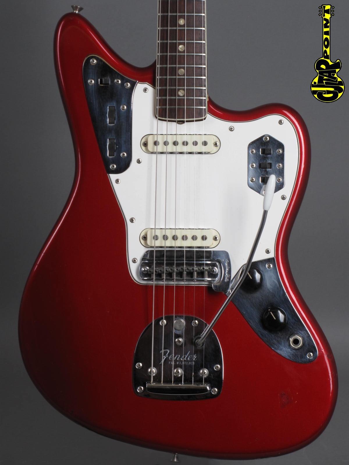 1966 Fender Jaguar – Candy Apple Red