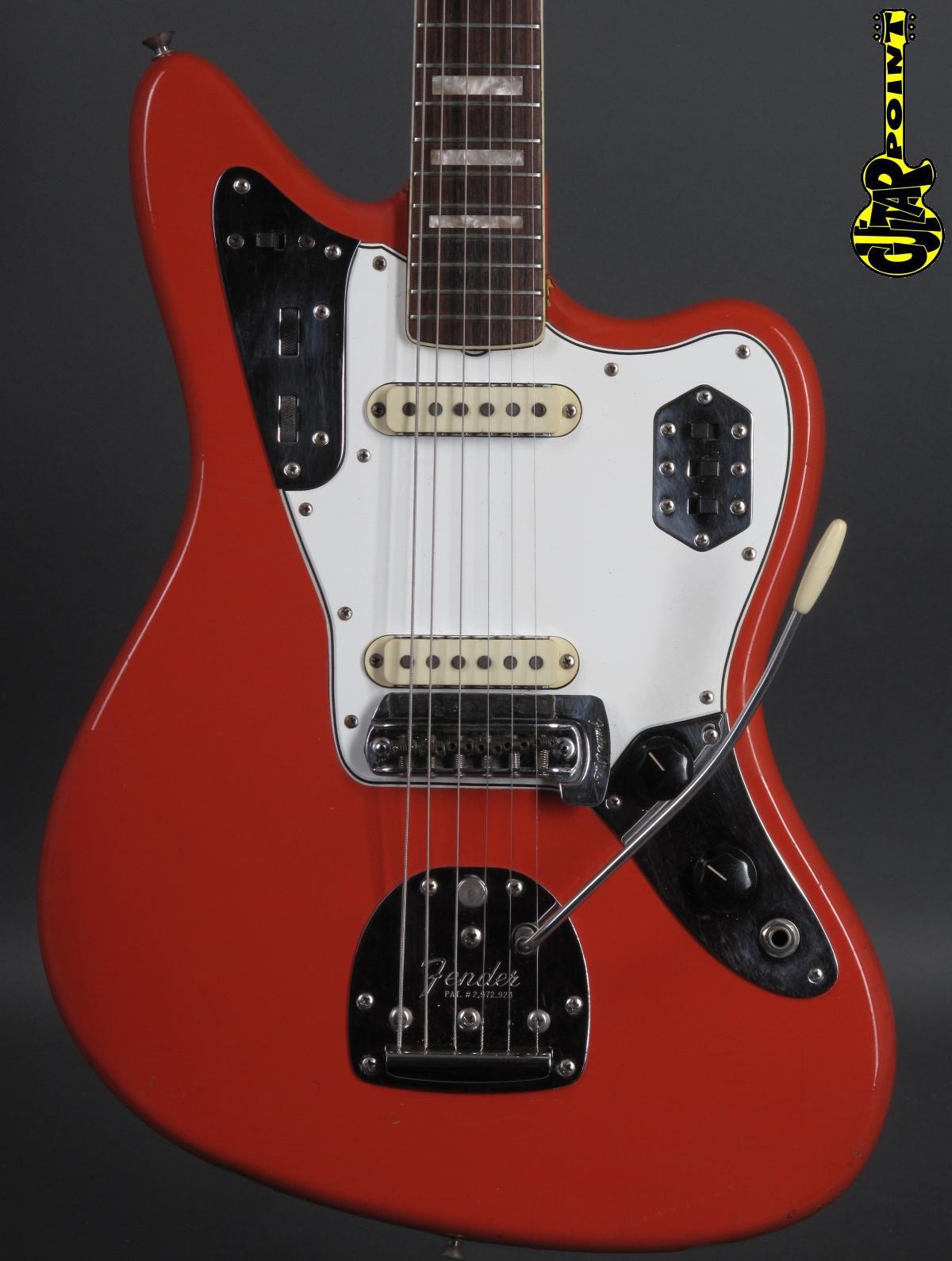 1966 Fender Jaguar – Fiesta Red  ...matching headstock!