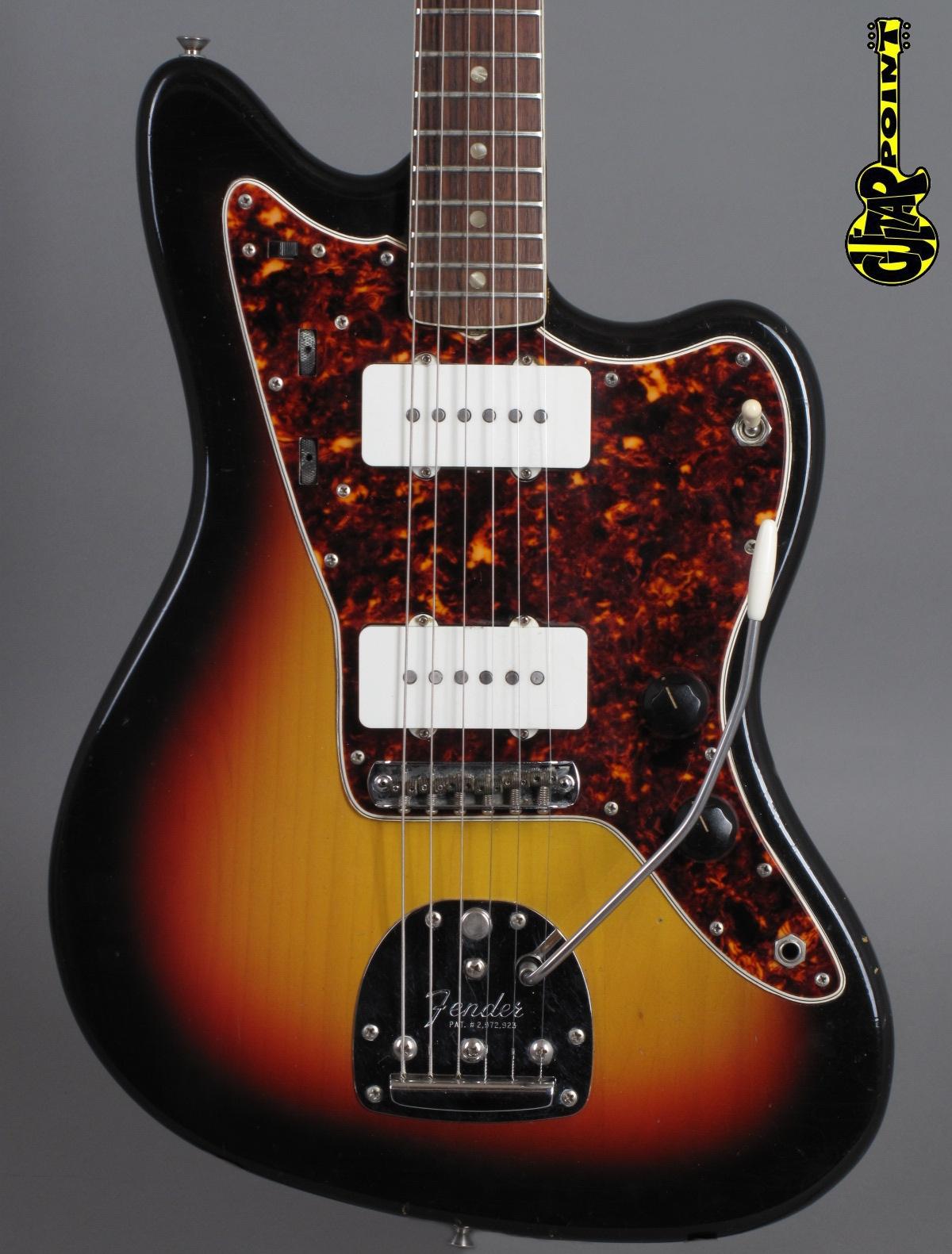 1966 Fender Jazzmaster - 3-tone Sunburst