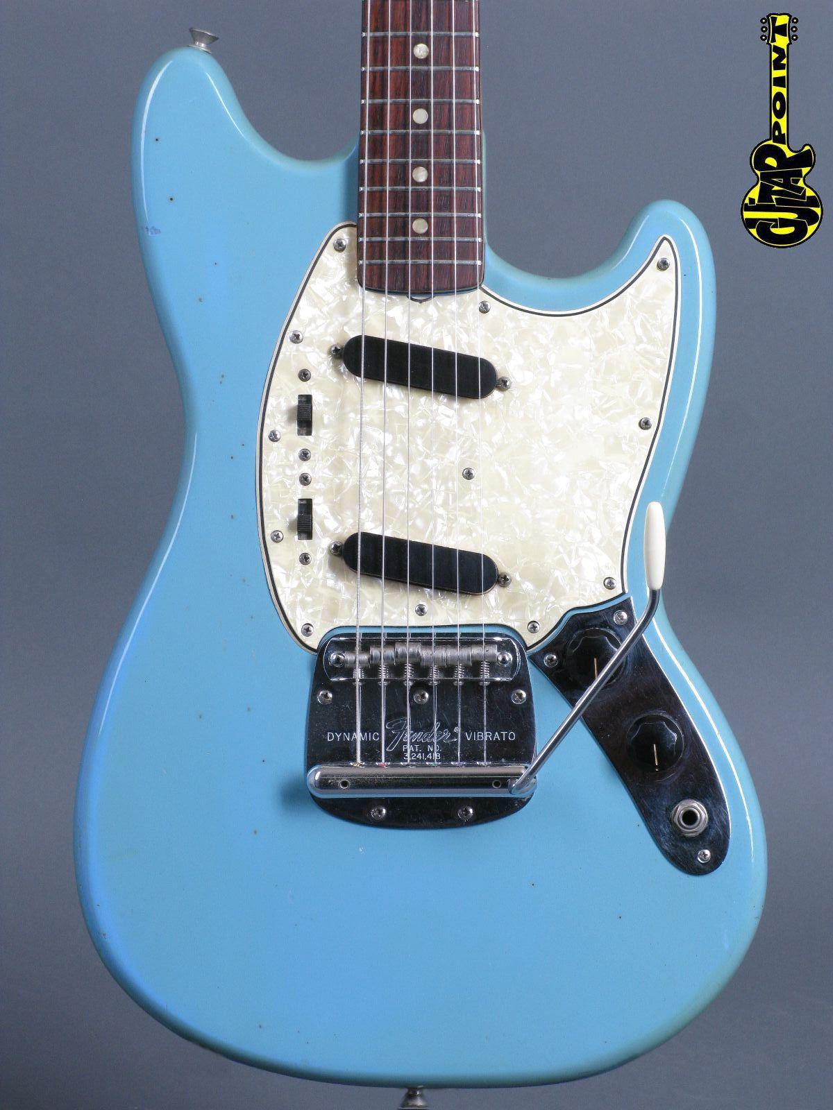 1966 Fender Mustang - Daphne Blue