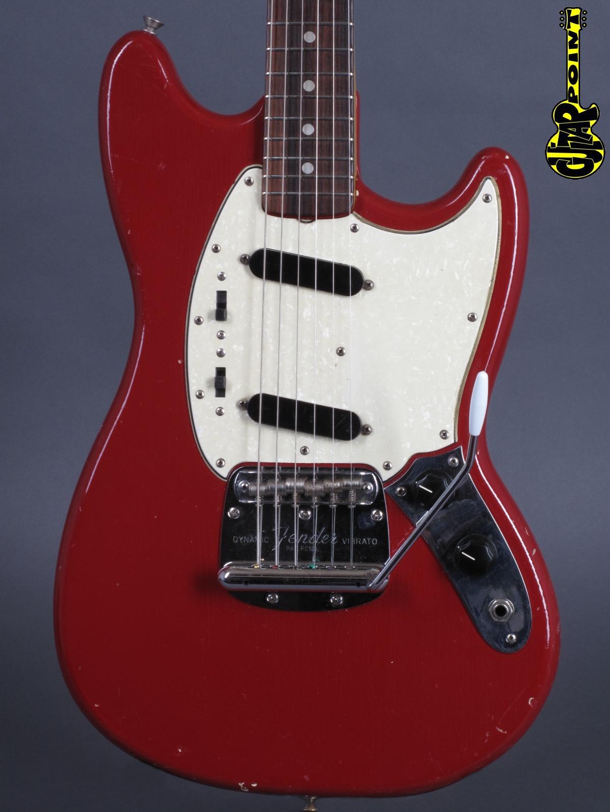 1966 Fender Mustang - Dakota Red   ...Abigail Ybbara PU´s !