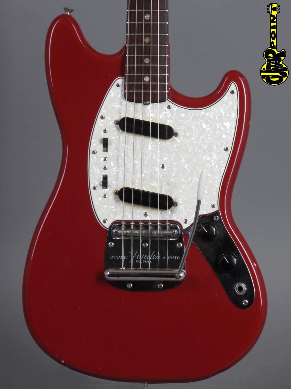 1966 Fender Mustang - Dakota Red
