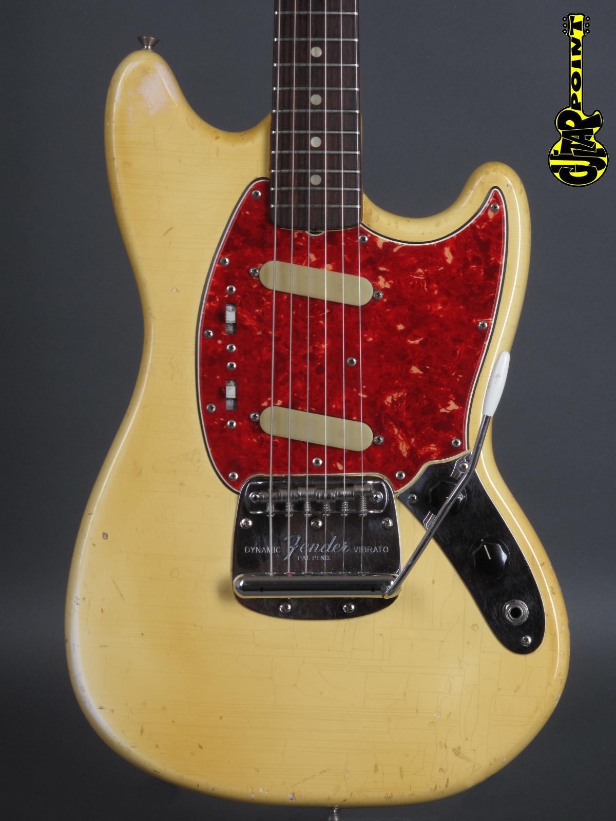 1966 Fender Mustang - Olympic White