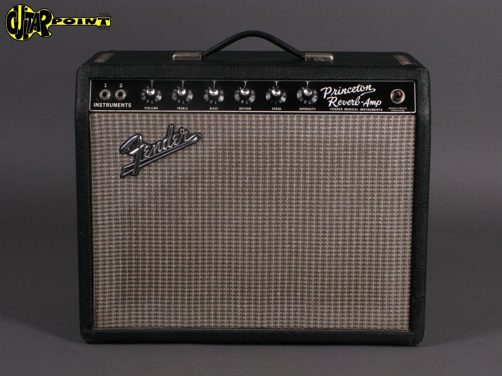 1967 Fender Princeton  Reverb Amp
