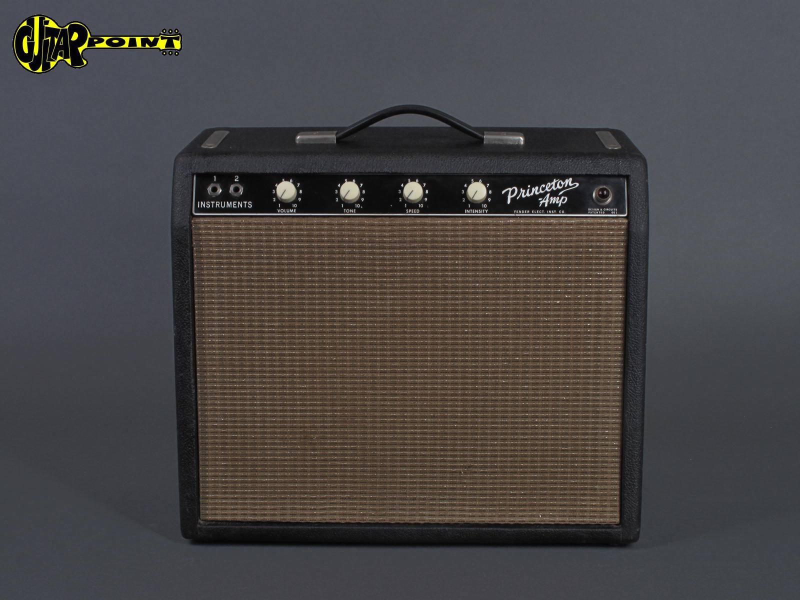 1964 Fender Princeton Amp - Blackface