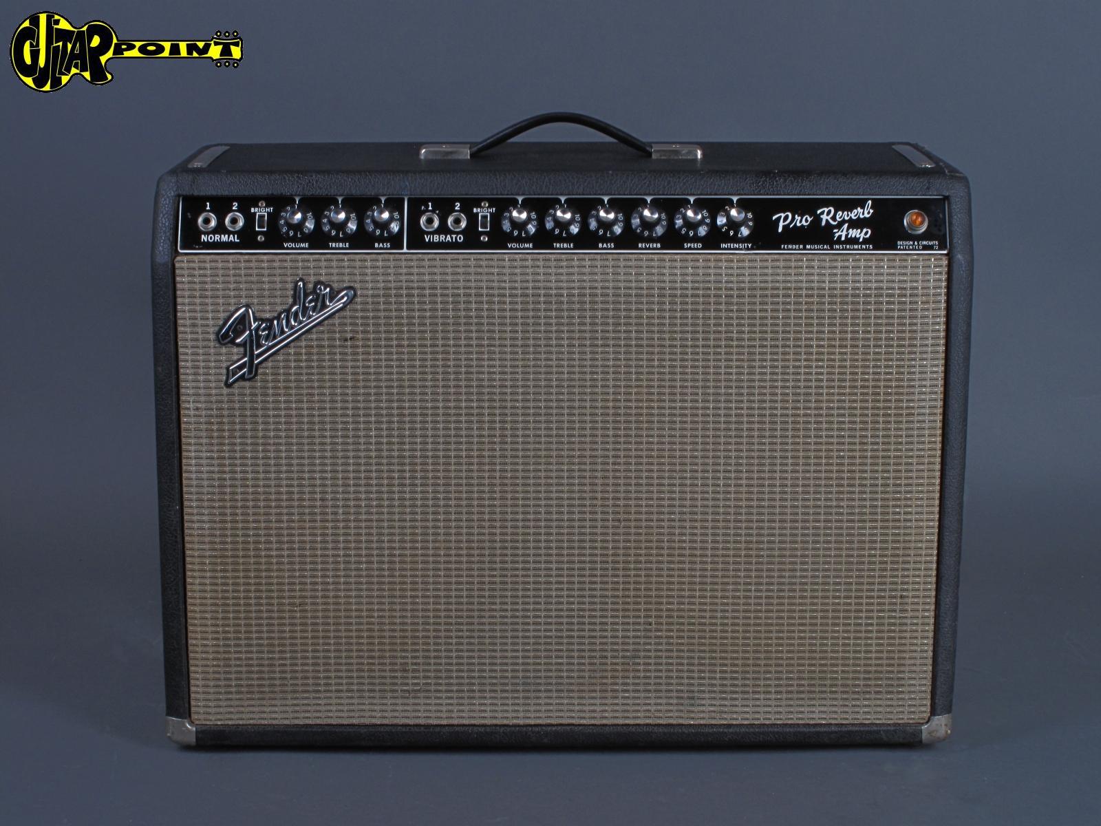 "1967 Fender Pro Reverb - ""Blackface"" 2x12"""