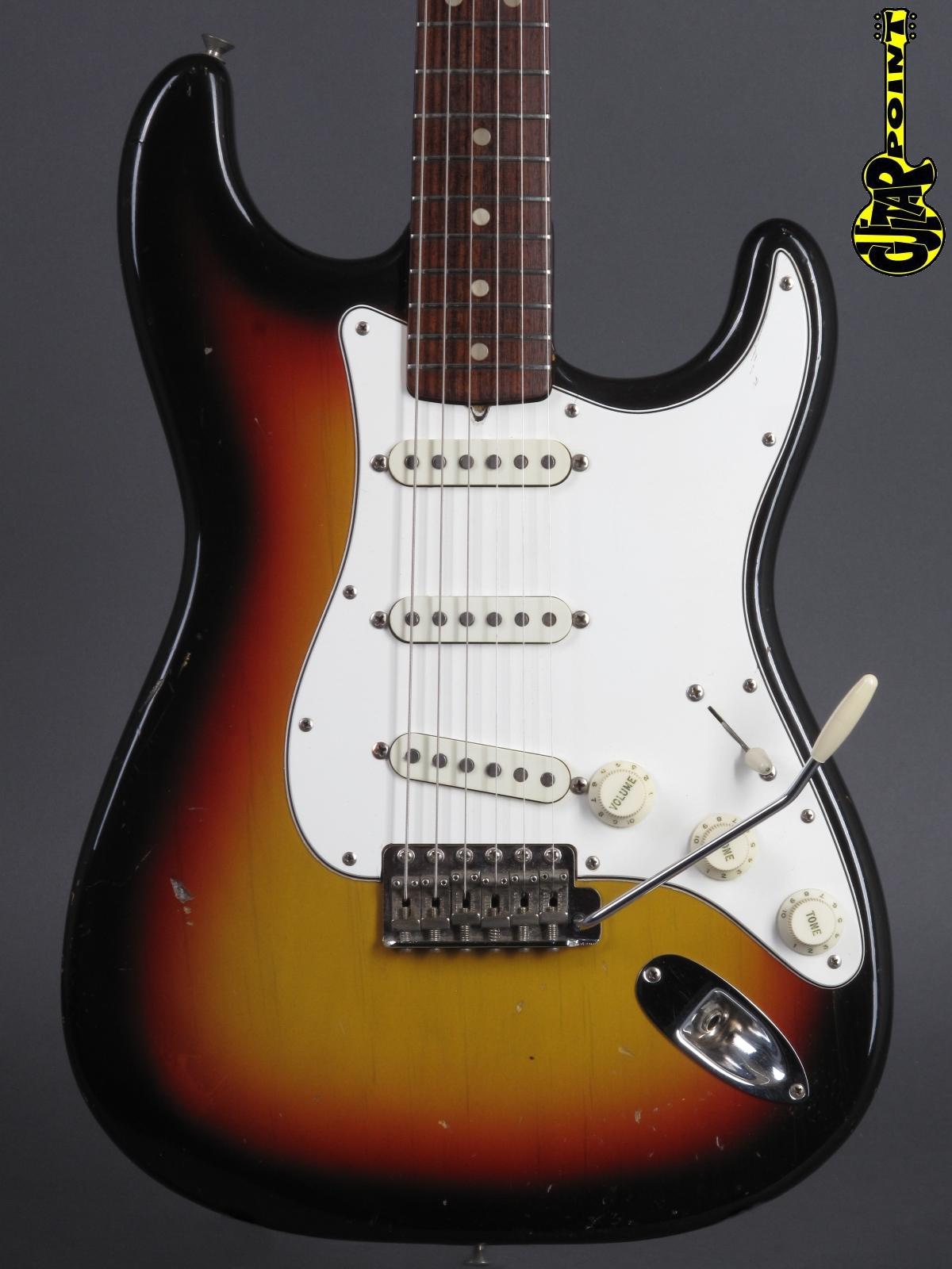 1966 Fender Stratocaster - 3t-Sunburst