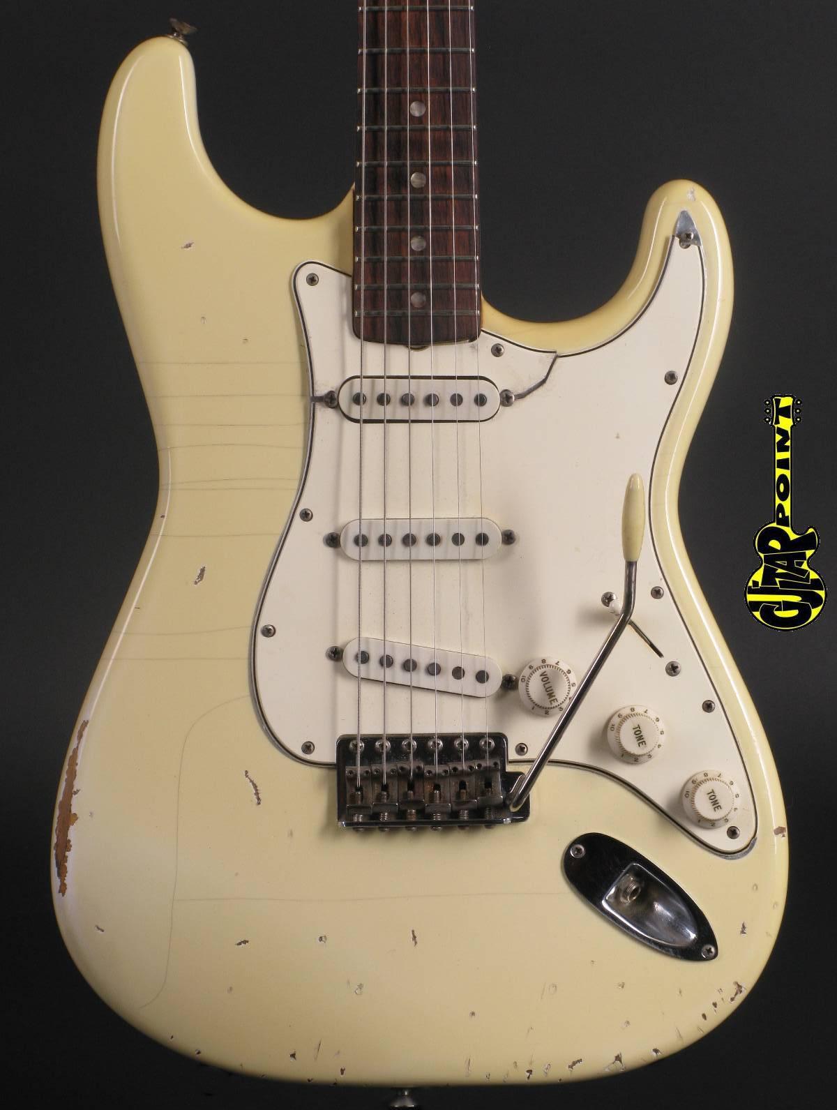 1966 Fender Stratocaster - Olympic White