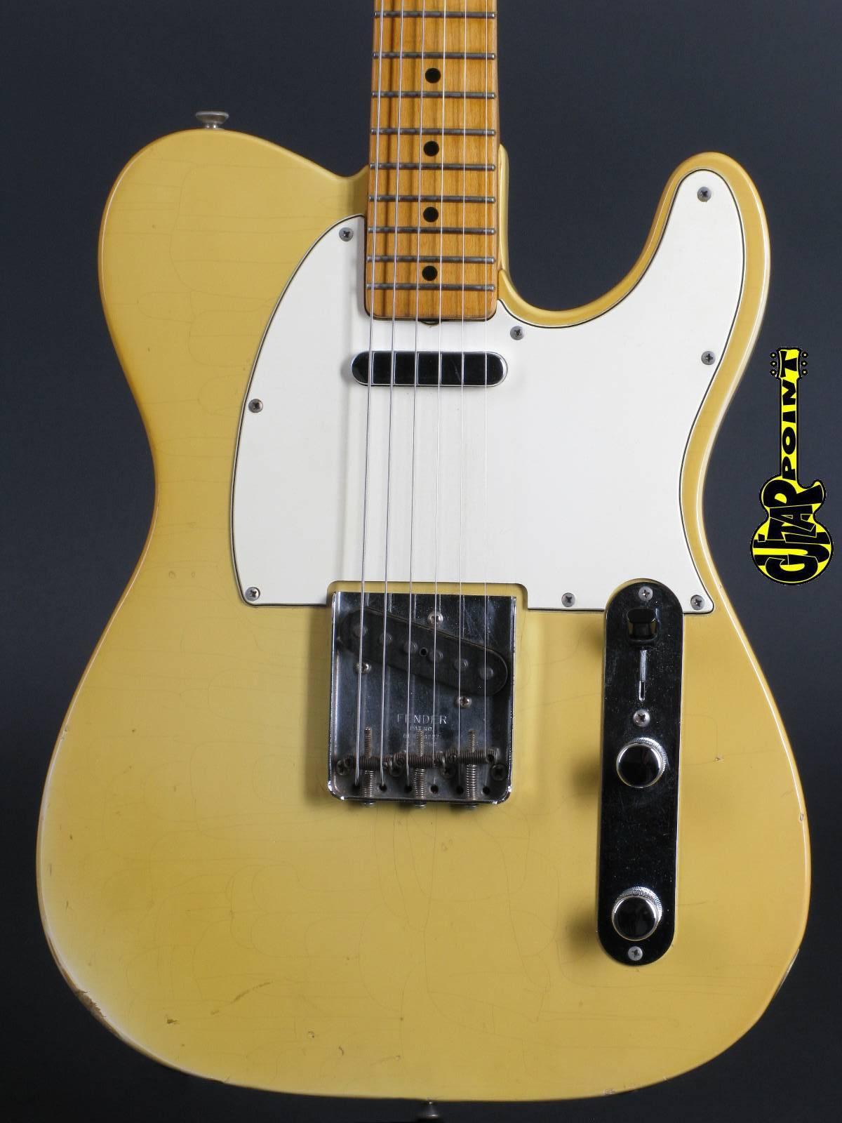 1966 Fender Telecaster - Blond (Maple-cap!)