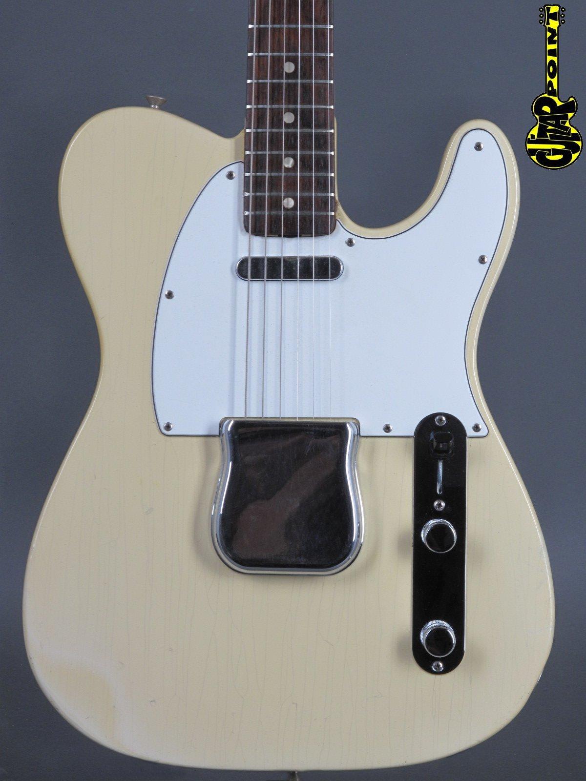 1966 Fender Telecaster - Olympic White  ---only 3,12KG!