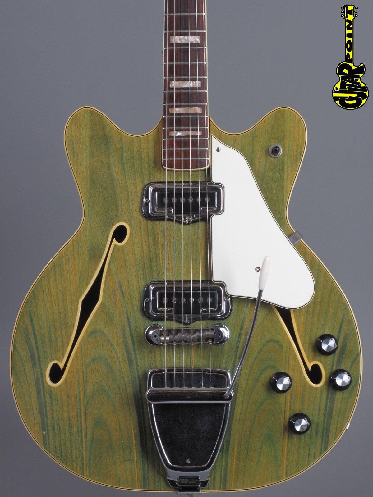 1967 Fender Coronado II - Wildwood    ...clean !!!
