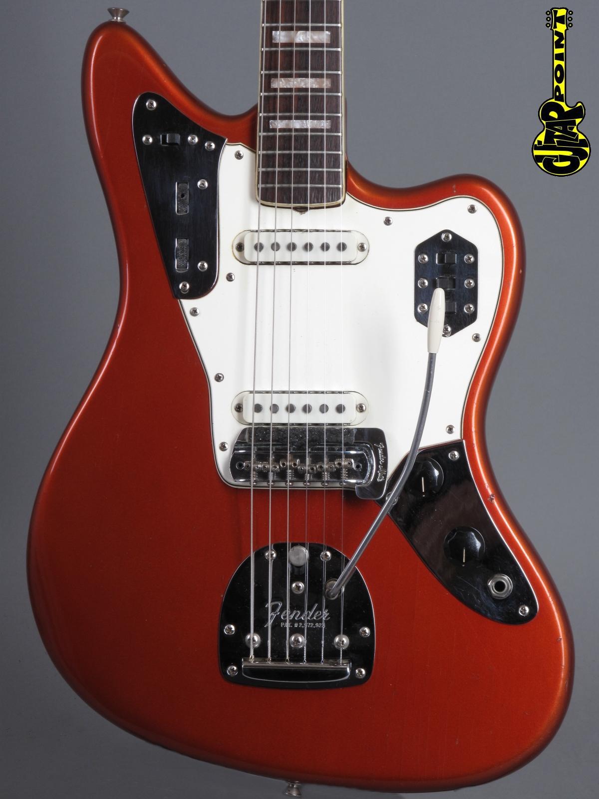 1967 Fender Jaguar – Candy Apple Red